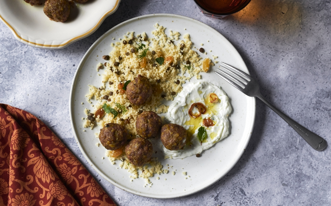 Vadouvan Lamb Meatballs with Yogurt