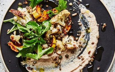 The Creamy Cashew Sauce We're Putting On All Our Roasted Veg (Bon Appétit)